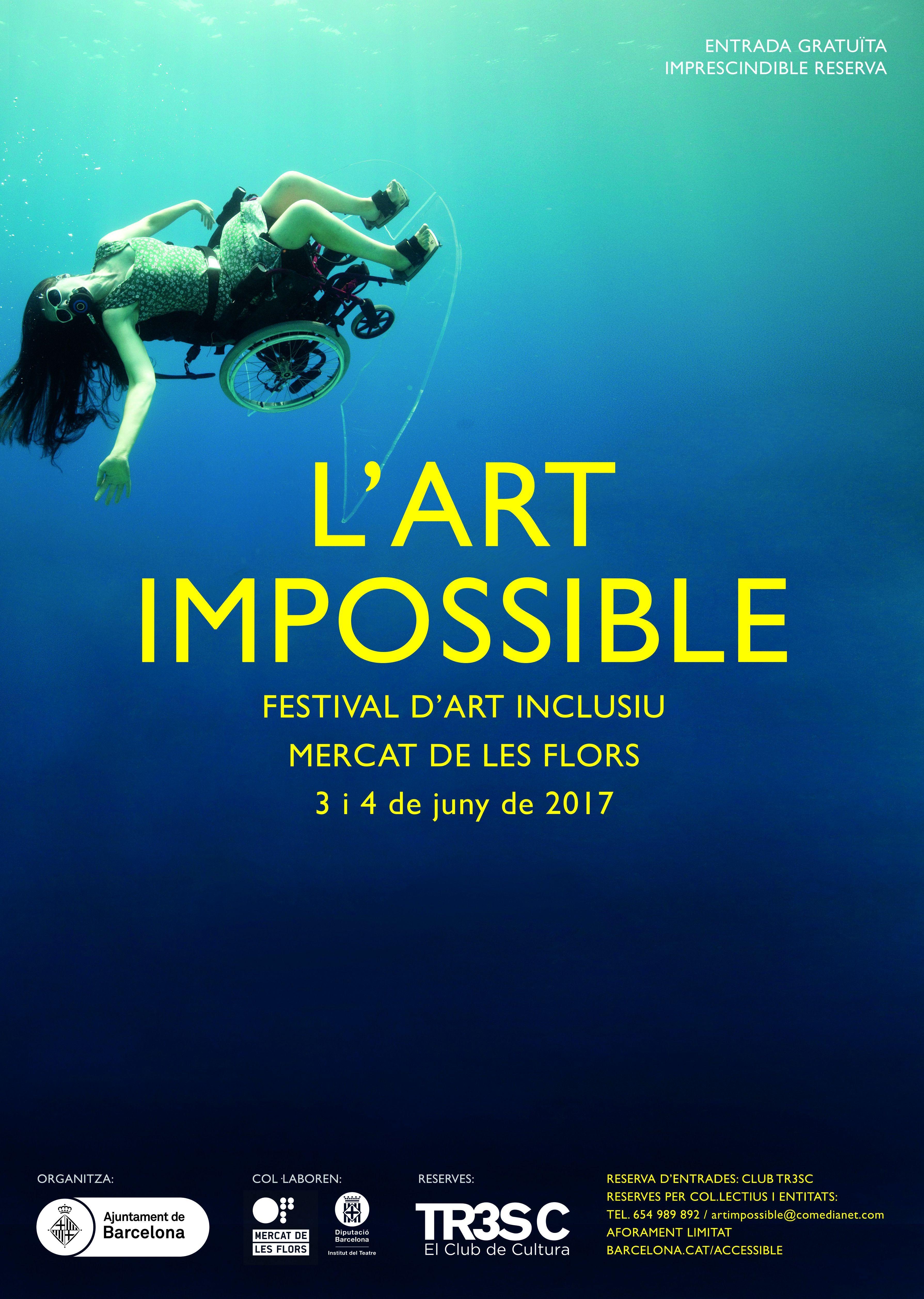 """Festival d'art Inclusiu, """"L'Art Impossible"""""""