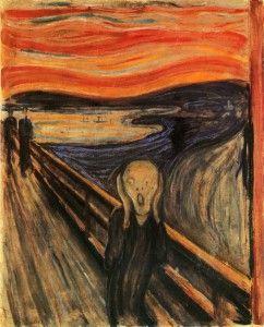 El grito, Edvuard Munch