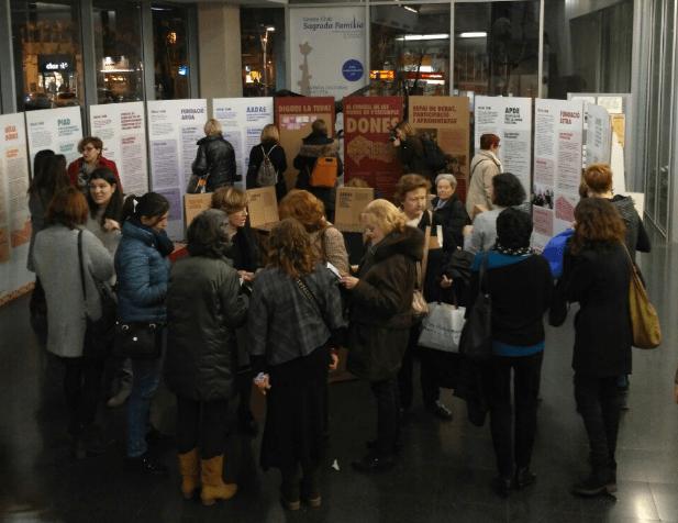 """Acte d'inauguració de l'exposició itinerant """"El Consell de Dones de l'Eixample"""""""
