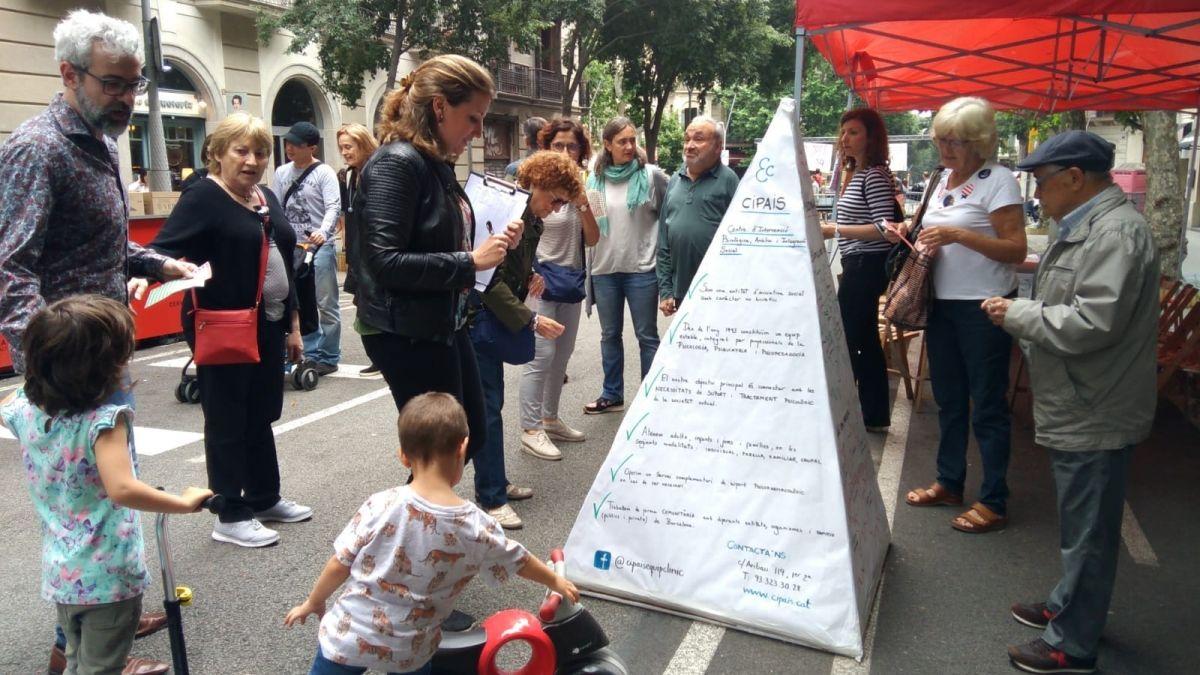 Cipais participa a la Festa Major de la Dreta de l'Eixample!