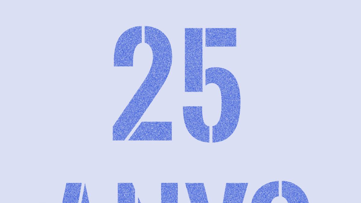 Reserva't el 28 de novembre, celebrem 25 anys!