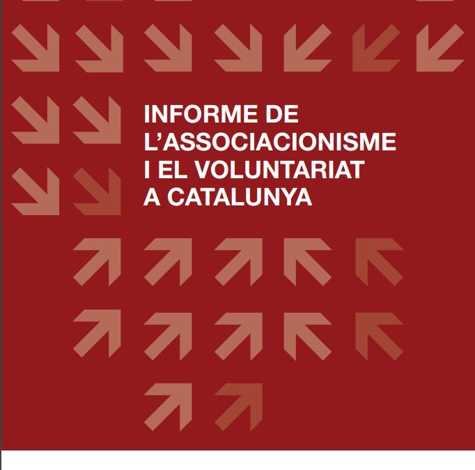 Es publica l'Informe de l'Associacionisme i el Voluntariat a Catalunya