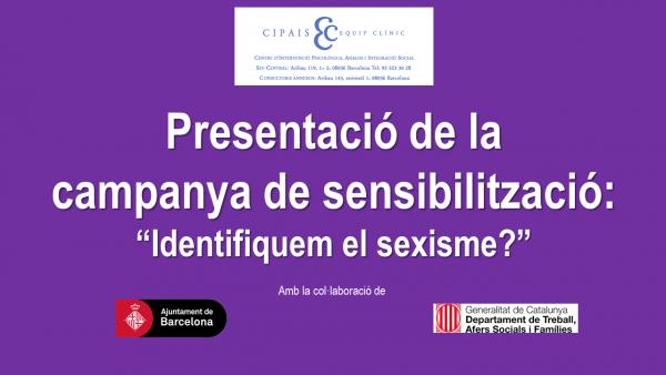 Participem a l'Acte Central del Consell de Dones de l'Eixample