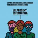 Dilluns 25 de novembre, Dia Internacional per a l'Eliminació de la Violència vers les Dones