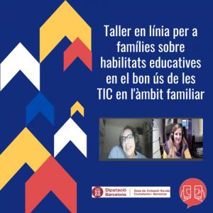 Taller online famílies TIC