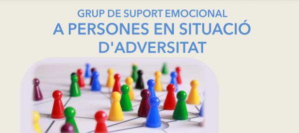 Es prepara l'inici del Grup de Suport Emocional per a persones en situació d'Adversitat al CAP Roger de Flor